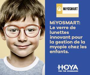 Les verres Miyosmart sont disponibles chez Vue des bains