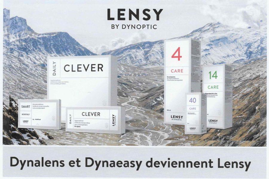 Vos produits Dynalens et Dynaeasy changent de look!